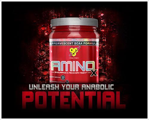 migliora prestazione energeticfa e sintesi proteica con amino x 435g bsn