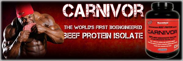 solo proteine isolate dal manzo con carnivor, ottimo post workout