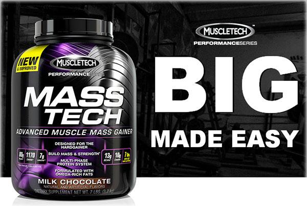muscletech mass-tech performance series gainer utile nel post-workout per aumentare la massa muscolare