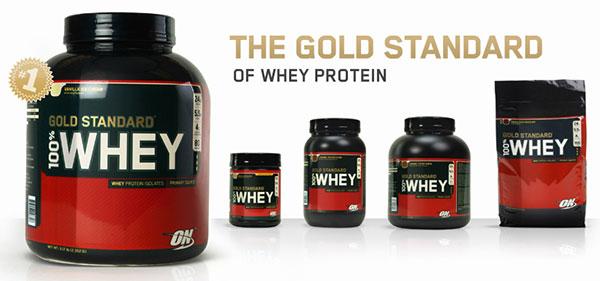 whey gold standard 2,27kg per aumentare o mantenere la massa muscolare