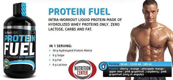Protein Fuel Shot integratore proteico liquido a veloce rilascio