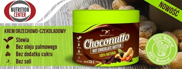 choconutto nutella proteica al cioccolato su base di arachidi e cocco essiccato, ipocalorica e gustosa