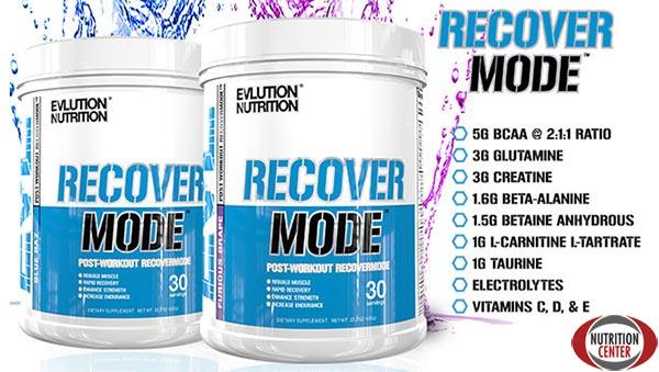 RecoverMode integratore studiato per velocizzare e migliorare il recupero post allenamento