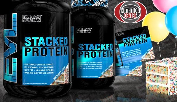 Staked Protein miscela proteica a lento rilascio realizzata con cinque differenti fonti, ideale come anticatabolico notturno