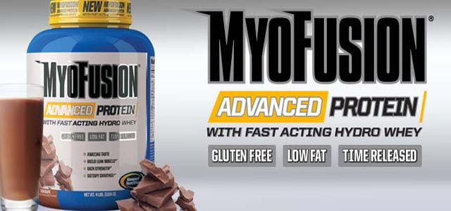 Myofusion Advanced Proteine del latte prodotte da Gaspari.