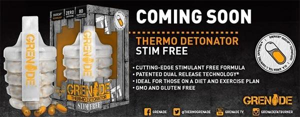 thermo detonator stim free brucia grassi per facilitare la perdita di grasso e ridurre l'appetito privo di stimolanti nervosi