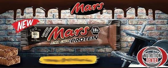 Mars Xtra Choc Protein barretta proteica ricca di protidi nobili ma povera di grassi e zuccheri, gusto eccezionale