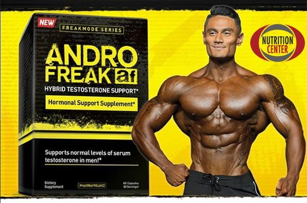 Andro Freak anabolizzante naturale ibrido, una formula modulatrice ormonale ma anche pre allenamento