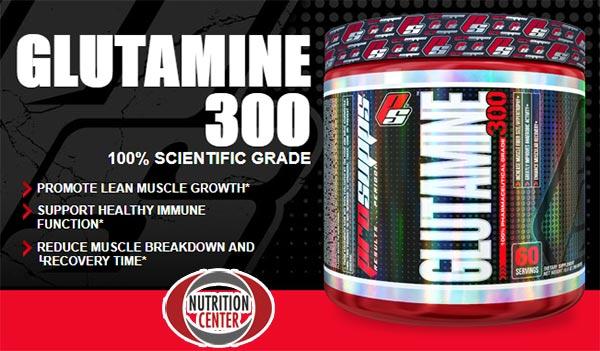 pro supps glutamine 300 integratore in polvere di l-glutammina per velocizzare il recupero muscolare