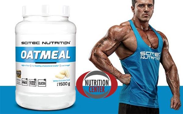 Scitec Oatmeal farina e fiocchi di avena, apportano carboidrati a basso indice e proteine complete, ricco di antiossidanti