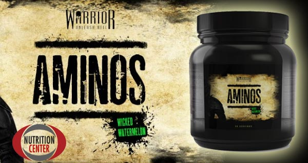 Warrior Aminos integratore pre workout a base di amminoacidi ed elettroliti