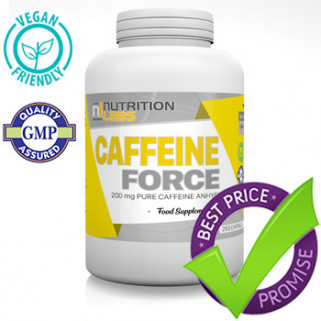 caffeina force 200mg 250cps nutrition labs