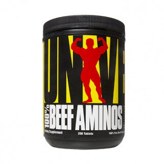 100% beef aminos 200cps universal nutrition