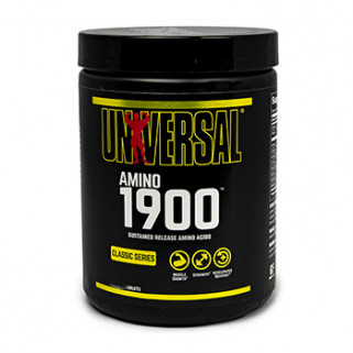 Amino 1900 325 cps universal nutrition