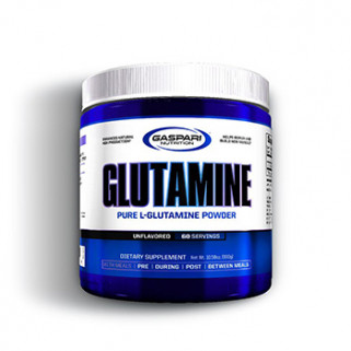 gaspari glutamine 300g powder integratore di l-glutammina