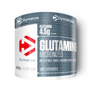 glutammina micronizzata in polvere da 400g by dymatize
