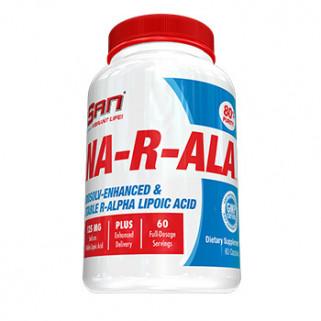 na-r-ala acido alfa lipoico 100mg san nutrition