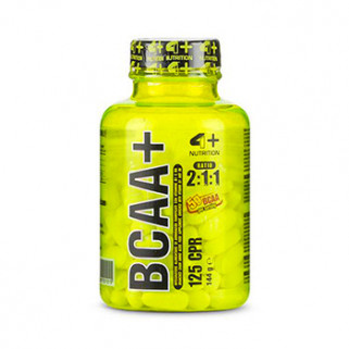 bcaa plus 125cps 4+ nutrition