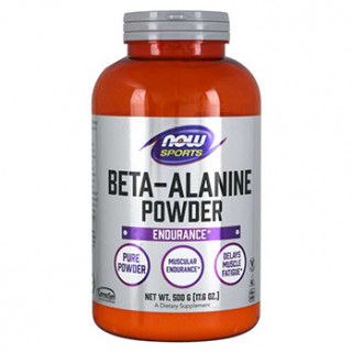 beta alanine powder 500gr now foods