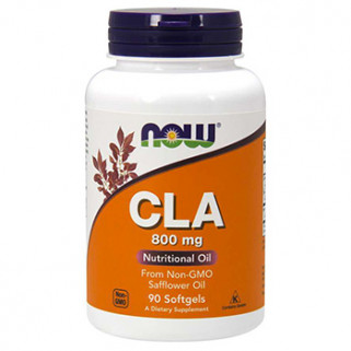 CLA 800mg 90cps now foods