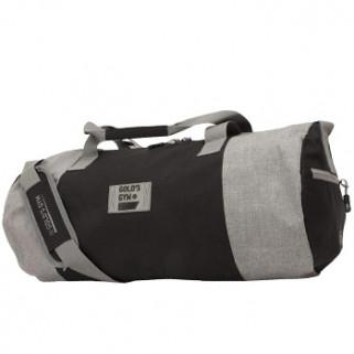 Gold's Gym Contrast Barrel Bag Black/Grey