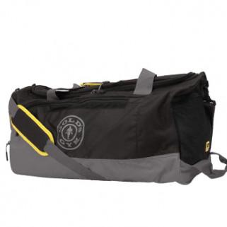Gold's Gym Contrast Travel Bag Black/Grey