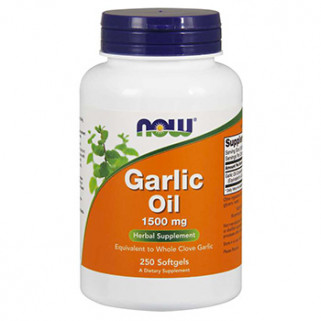 garlic oil 1500 250cps now foods