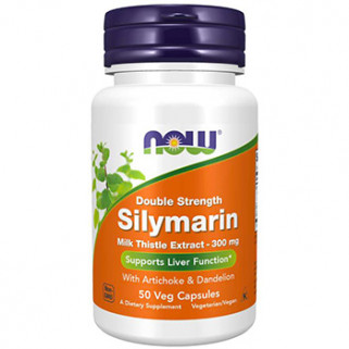 silymarin 300mg 50cps now foods
