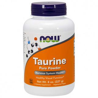 taurina powder 227gr now foods