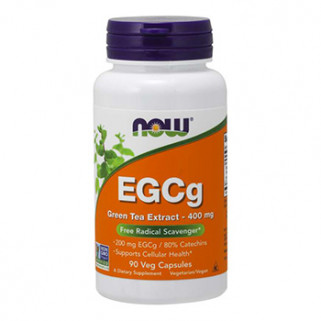 egcg green tea extract 90cps now foods