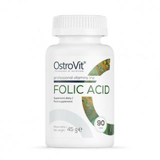 Acido Folico 400mcg 90tabs ostrovit