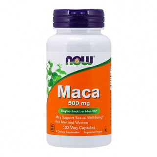 maca 500mg 100cps now foods