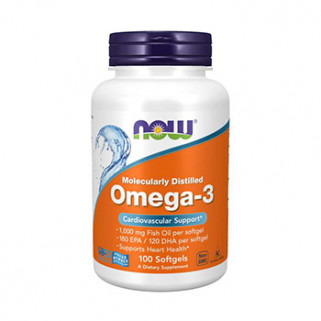 omega-3 100cps now foods