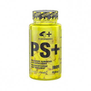 ps+ fosfatidilserina 90cps 4+ nutrition
