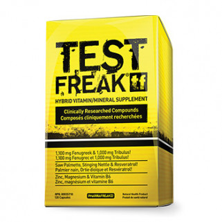 test freak 120cps pharmafreak