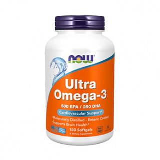 ultra omega-3 180cps now foods