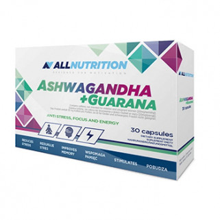Ashwagandha + Guaranà 30 cps All Nutrition