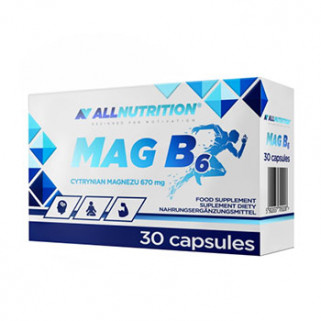 MAG B6 30 cps All Nutrition
